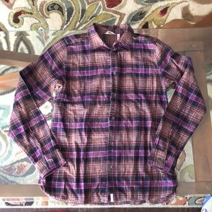 Woolrich flannel NWT from whole earth